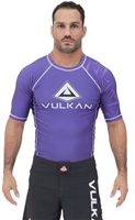 Vulkan Challenge Rashguard Short/Sleeve Purple