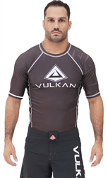 Vulkan Challenge Rash guard Short/Sleeve Brown