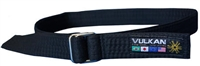 Vulkan Street Wear Jiu-Jitsu Belt - Black