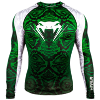 Venum Amazonia 5 Rashguard - Long Sleeves - Amazonia Green