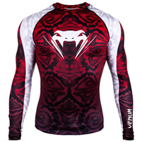 Venum Amazonia 5 Rashguard - Long Sleeves - Amazonia Red