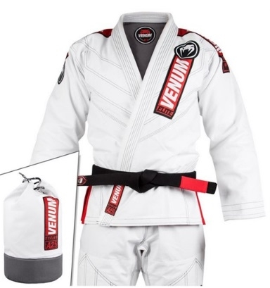 Venum Elite 2.0 BJJ Gi (Bag included) - White