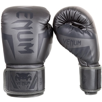 "Venum ""Elite"" Boxing Gloves - Grey/Grey"