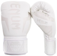 "Venum ""Elite"" Boxing Gloves - White / White"