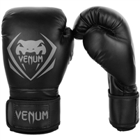 "Venum ""Contender"" Boxing Gloves - Black / Grey"
