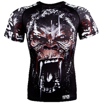 Venum Gorilla Rashguard - Short Sleeves - Black