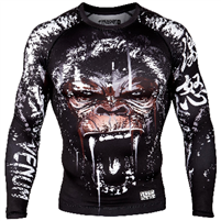 Venum Gorilla Rashguard - Long Sleeves - Black