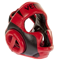 "Venum ""Absolute 2.0"" Headgear - Red Devil - Nappa Leather"