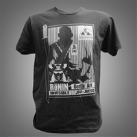 JJPG Ronin T-shirt - Black with Gray Design