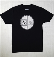 JJPG T-shirt - Element - Black with White Print