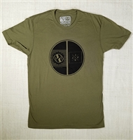 JJPG T-shirt - Element - Army Green with Black Print