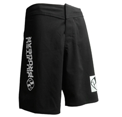 Jiu Jitsu ProGear 2-Way Stretch Shorts - BLACK