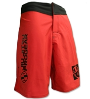 Jiu Jitsu ProGear 2-Way Stretch Shorts - Red