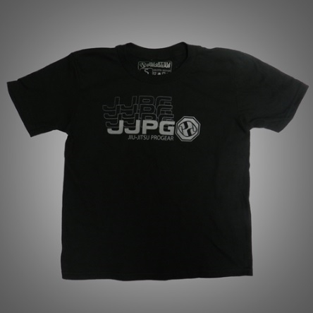 JJPG T-shirt - Youth - Frequency Tee - Black with Gray