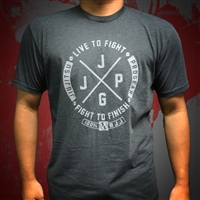 JJPG Live to Fight - Dark Heather Gray