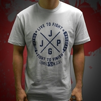 JJPG Live to Fight - Light Gray Navy