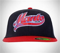 "MANTO Cap ""Jiu-Jitsu"" Fitted Black"