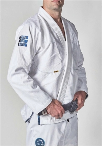 "MANTO ""STRONG WAVES"" BJJ GI White"