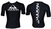 Vulkan - Rash Guard - 2015 Vulkan IBJJF S/S - BLACK RANK