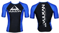 Vulkan - Rash Guard - 2015 Vulkan IBJJF S/S - BLUE RANK